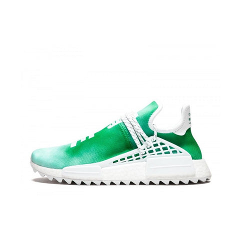 "ADIDAS PHARRELL NMD HU CHINA PACK ""YOUTH (GREEN)"" 2018 F99760"