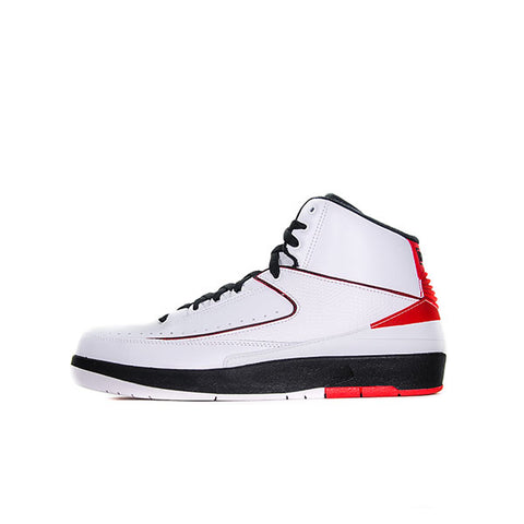 "AIR JORDAN 2 QF ""WHITE VARSITY RED"" 2010 395709-101"