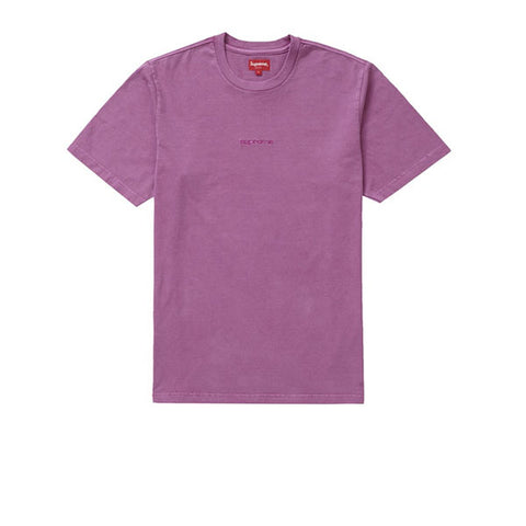 SUPREME OVERDYED TEE MAGENTA SS19