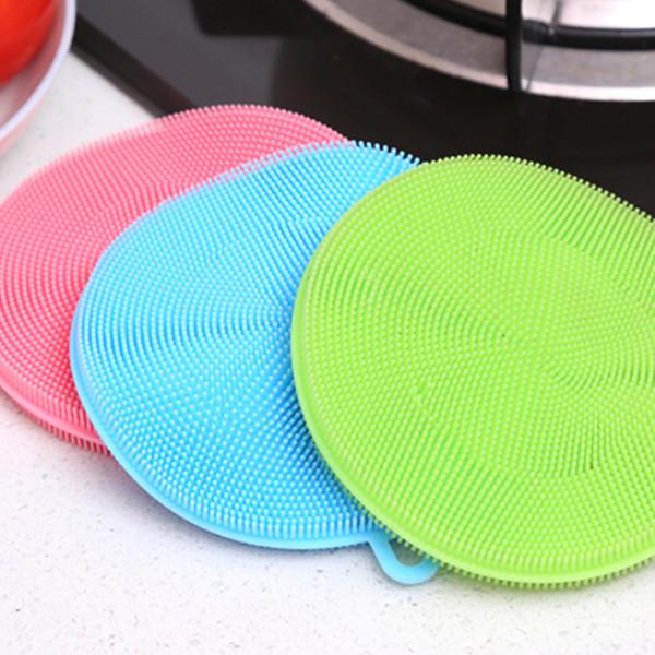 Kitchen - Multipurpose Food-Grade Antibacterial Silicone Smart Sponge - 3 Colours Available!