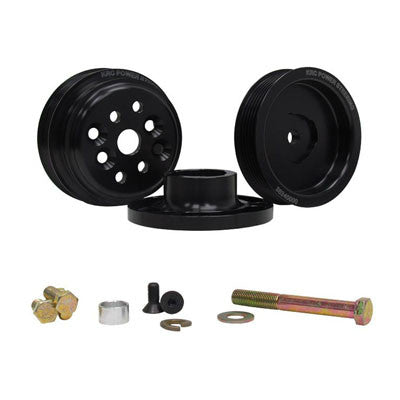 1:1 Pro Series Serpentine Pulley Kit SBC