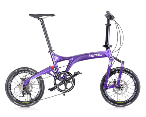 NEW BIRDY R 11 SP Galaxy Purple