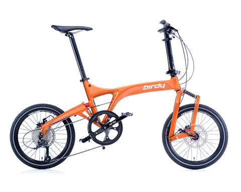 NEW BIRDY Standard 9 Speed Tangerine