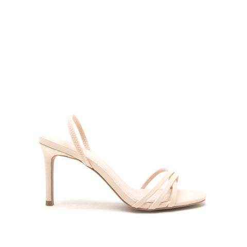 Backfire-07 Nude Multi Strap Slingback Sandals