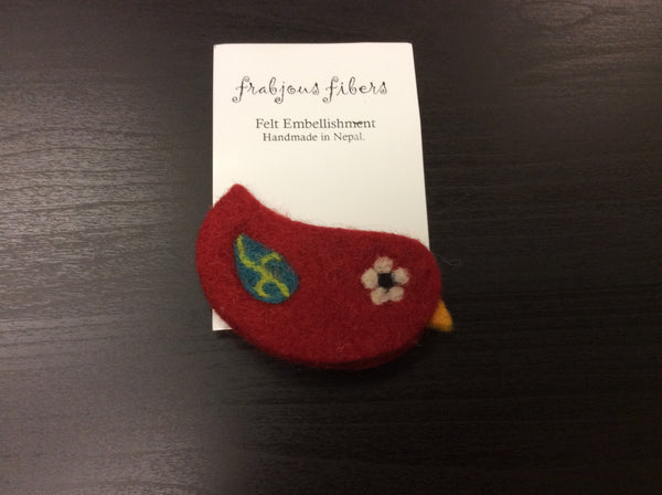 Felt Embellishment Pin