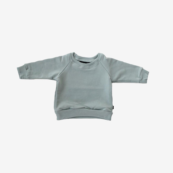 Bamboo French Terry Sweatshirt - Mist Green