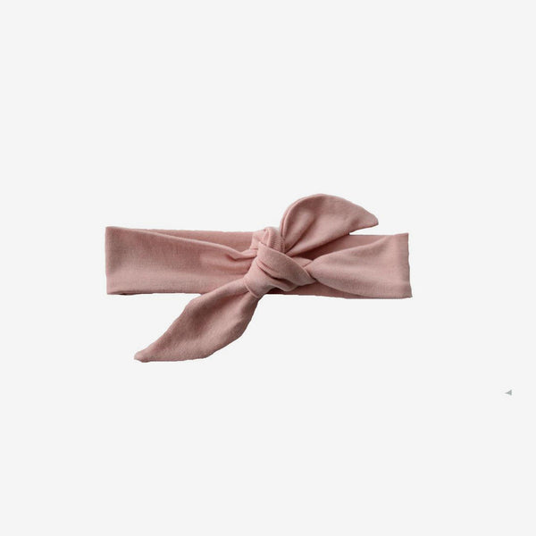 Bamboo Knotted Headband - Blush