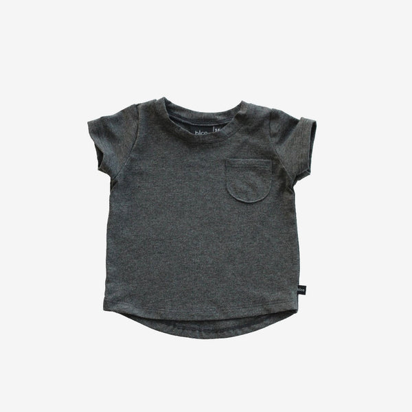 Bamboo Pocket Tee - Graphite