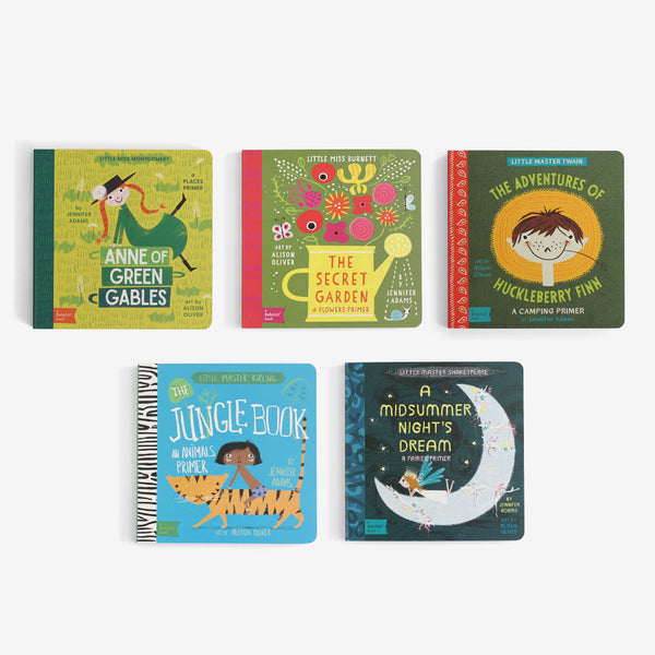 BabyLit Board Book Collection - Set B