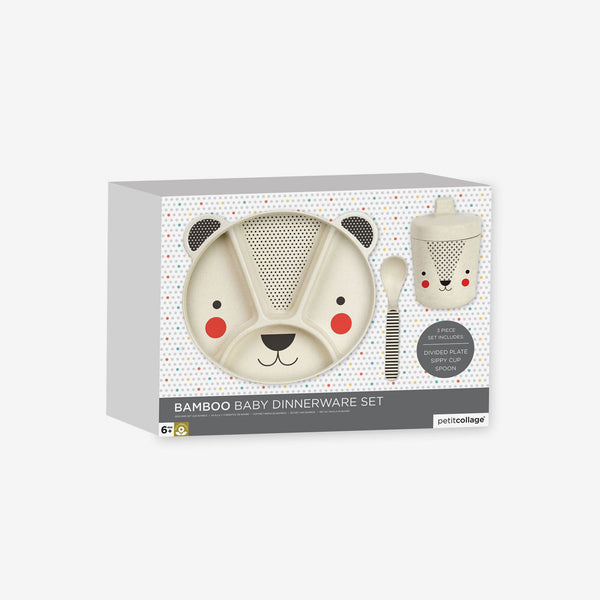 Bamboo Dinnerware Set - Baby Bear