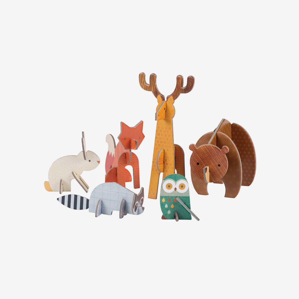 Pop-Out & Play - Woodland Animals