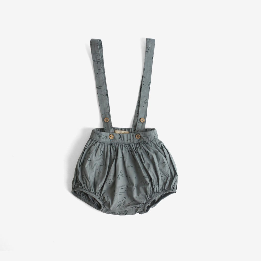 Desert Night Woven Pima Bloomers with Suspenders