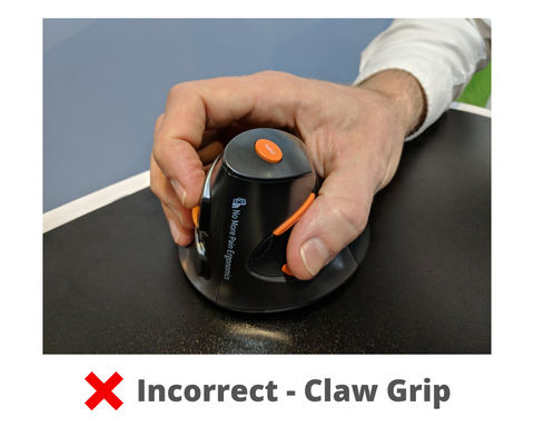 Delux Mouse - Incorrect Claw Grip