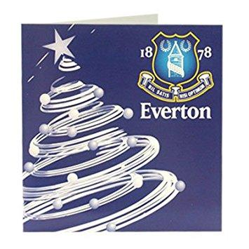 Everton FC Christmas Card, Supporter - Accessories, Taylors - Football Galaxy