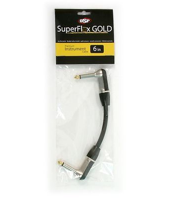 SuperFlex GOLD SFI-.5RR Premium Instrument Cable 6inch RA-RA