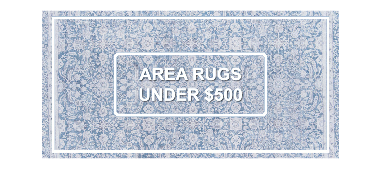 Rugs for less than $500