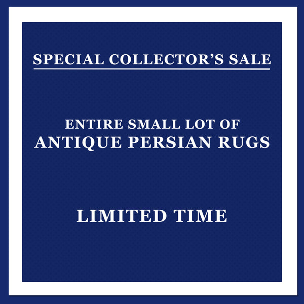Special Sale: Private Persian Rug Collection