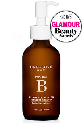 Vitamin B Enzyme CLEANSING OIL + MAKEUP REMOVER (Original Award-Winning Version)
