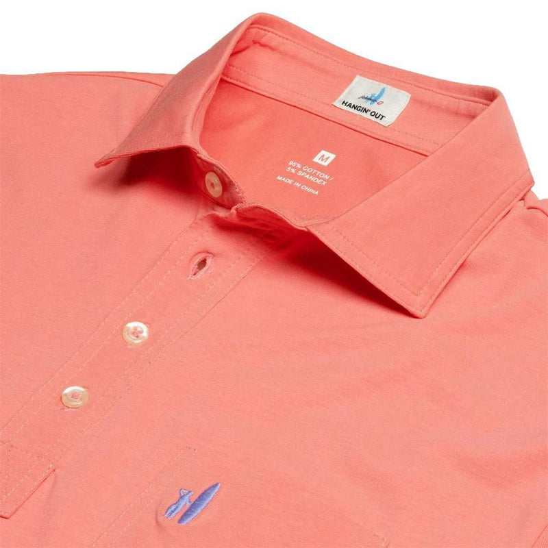 Johnnie-O The Original 4-Button Polo in Coral Reefer by Johnnie-O