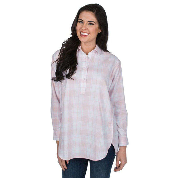 Lauren James Carter Boyfriend Tunic in Blush