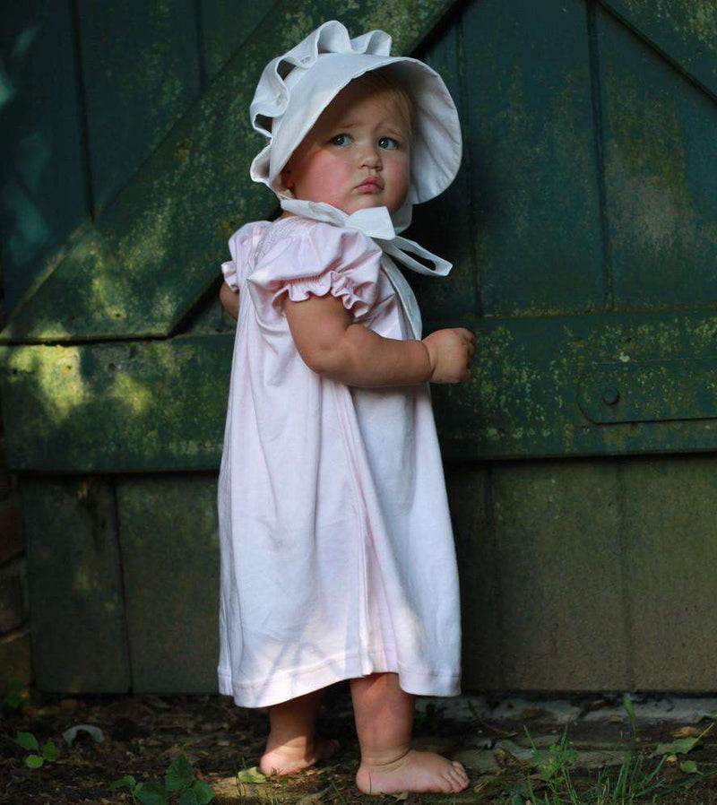 Baby,Kids - Worth Ave Bonnet In White By The Beaufort Bonnet Company