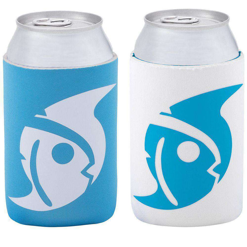 Can Holders - Batten Down REVERSIBLE Can Caddie In Turquoise By Southern Tide