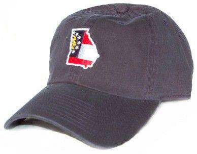 Hats/Visors - GA Traditional Hat In Navy By State Traditions