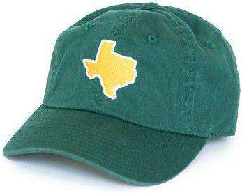 Hats/Visors - TX Waco Gameday Hat In Green By State Traditions