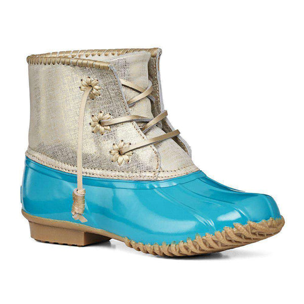 Chloe Duck Boot in Caribbean Blue by Jack Rogers