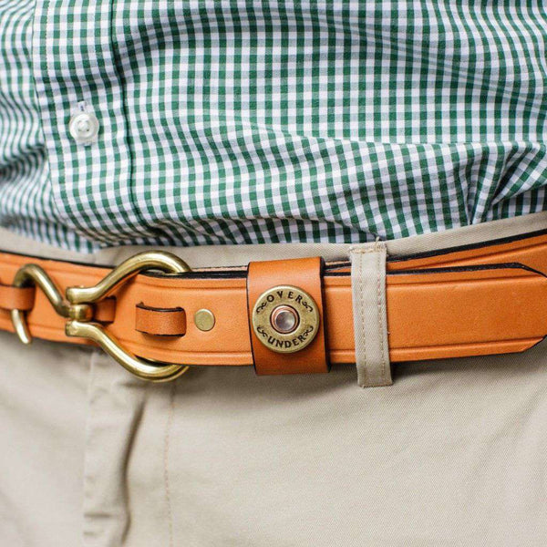 Men's Belts - Hoof Pick Belt In London Tan By Over Under Clothing