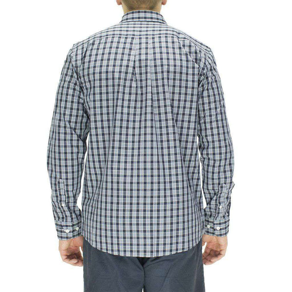 Men's Button Downs - Auburn Button Down In Discovery Park Plaid By Cutter & Buck