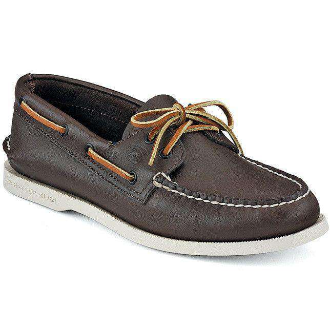 Men's Footwear - Men's Authentic Original Boat Shoe In Classic Brown By Sperry