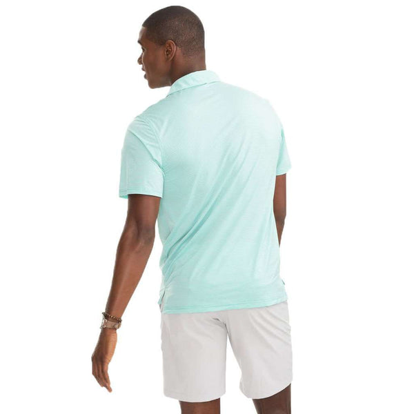 Southern Tide Haig Point Brrrº Performance Striped Polo Shirt by Southern Tide