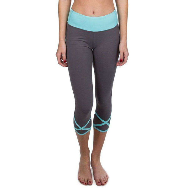 Women's Pants - Anything But Basic Legging In Cool Grey By Lauren James