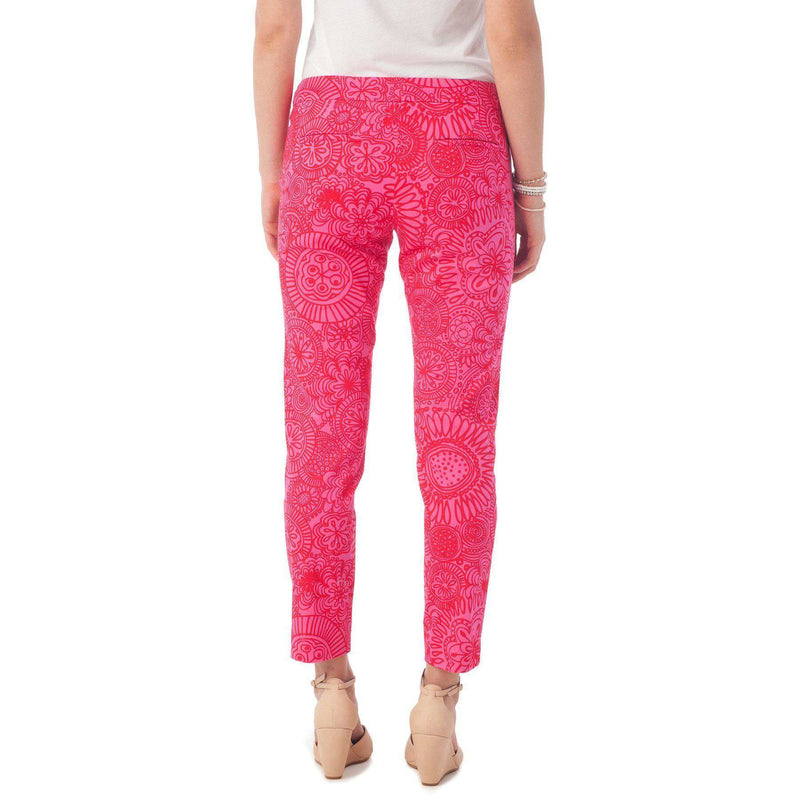 Women's Pants - Audrey Pant In Seapine Floral By Southern Tide