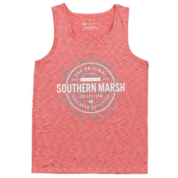 Women's Tops - Schools Out Forever Tank In Pink & Midnight Gray By Southern Marsh