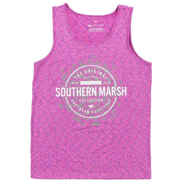 Women's Tops - Schools Out Forever Tank In Purple & Pink By Southern Marsh