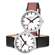 Mondaine Official Swiss Railways Classic 75th Anniversary SET 40mm