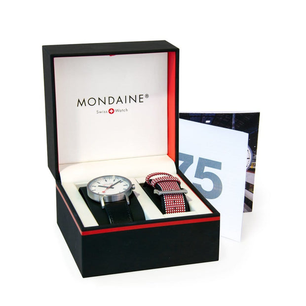 Mondaine Official Swiss Railways Classic 75 Years Anniversary SET 30mm