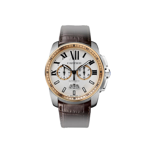 Calibre de Cartier Chronograph watch W7100043