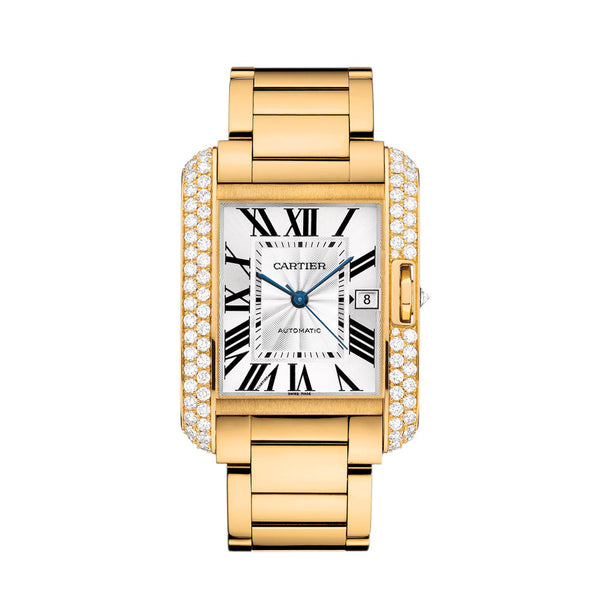 Cartier Tank Anglaise Watch, Extra-large Model WT100007