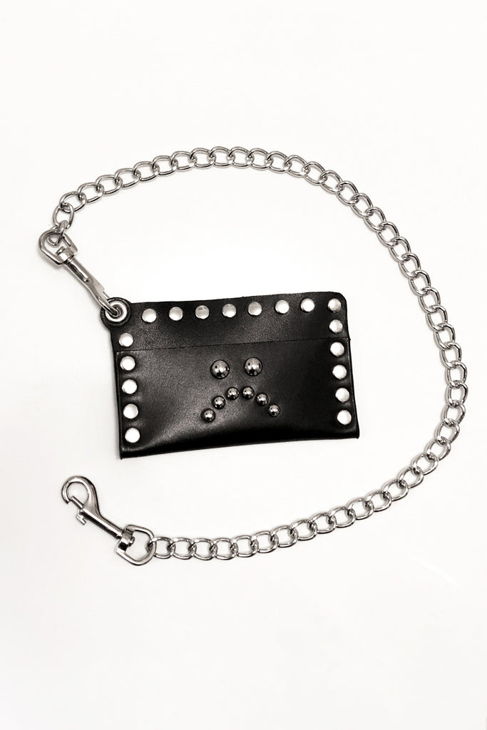 Studded Card Wallet