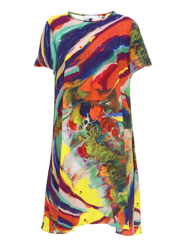 Klements Frieda dress magma print sale outlet | ON SLOWNESS