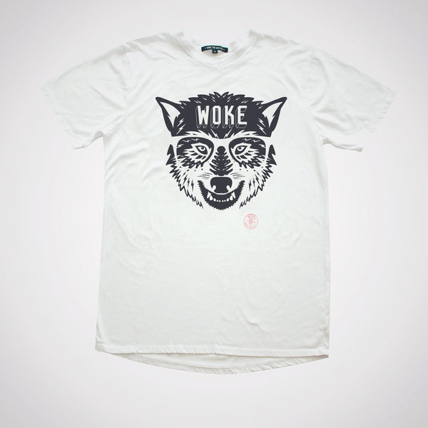 Woke Wolf Slim Gym V-neck