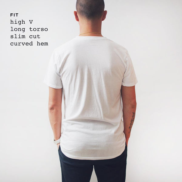 WTW Logo Slim Gym V-neck