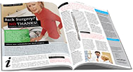 2-Page Spinal Decompression Magazine Ad