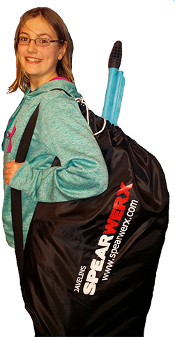 NEW SPEARWERX Draw String Equipment Bag 24