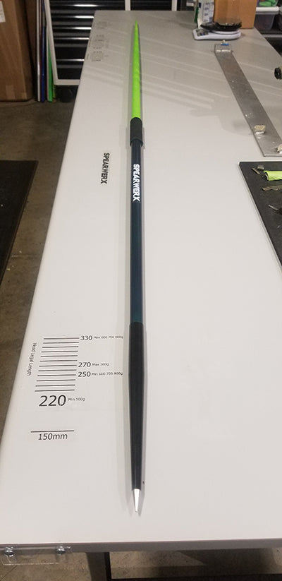 One of a Kind - SPEARWERX Custom Javelin - 800gram