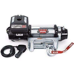 Warn, 12v endurance winch 24m wire rope w/ wireless remote, 12.0xe-78600 - Winchworld