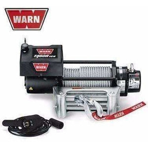 Warn 12v self recovery winch 24m wire rope, 10k-88395